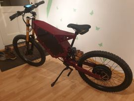 E bike Stealth Bomber 3000w