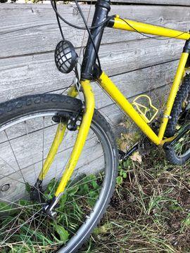 Großes 21-Gang Mountainbike 1994 Shimano: Kleinanzeigen aus München Bogenhausen - Rubrik Mountain-Bikes, BMX-Räder, Rennräder