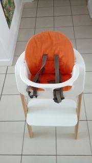 Stokke Hochstuhl in Orange