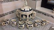 Bowle-Set Burgen für 6 Personen