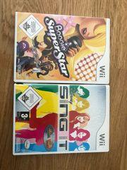 Nintendo Wii Singen Spiele auch