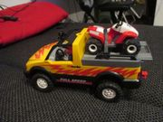 Playmobil Pick-Up mit Racing Quad