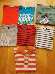 Marken T-Shirts 7 Stück 110