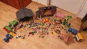 Playmobil Bauernhof Marktstand Fahrzeuge ganz