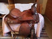 Alter Westernsattel Ponysattel