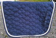 3 Stück Schabracken in Blau