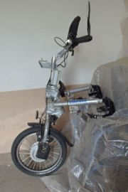 Verkaufe selbstmotorisierte Rollstuhlzugerät Rollstuhl-E-Bike