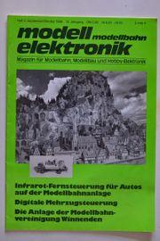 Modell elektronik Modellbahn Magazin