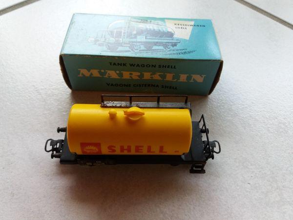 Märklin Modelleisenbahn Kesselwagen Shell 4502