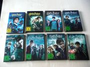 Harry Potter komplett DVD 1-7