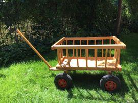 Sonstiges für den Garten, Balkon, Terrasse - Leiterwagen