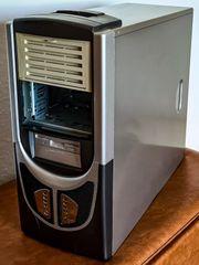 PC Gehäuse -gebraucht mit leichten