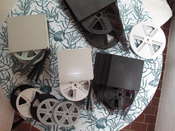 Konvolut Filmspulen Super 8 Filmspulen