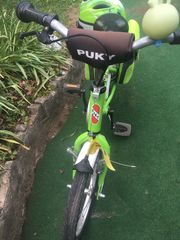 Puky Grün Kiwi Fahrrad 16