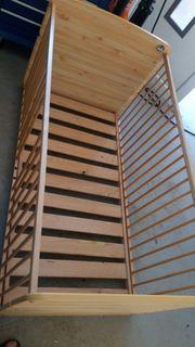 Kinderbett Babybett 70x140 Holz Schlupfsprosse