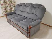 3 Sitz Couch mit Bettfunktion