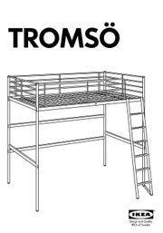 IKEA Hochbett TROMSÖ 200 x