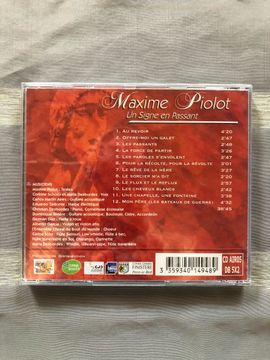 CDs, DVDs, Videos, LPs - Maxime Piolot un signe en
