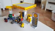 Playmobil Shell Tankstelle Bike Shop