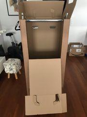 3 Kleiderboxen 600x510x1350 mm