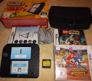 Nintendo 2DS schwarz blau Konsole