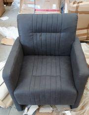 Cocktailsessel schwarz Wohnzimmersessel Sessel R48