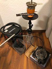 Shisha Set mit Kohle und
