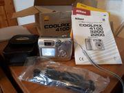 Nikon Coolpix 4100 inkl Lederetui