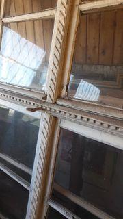 Historisches antiker Fenster 120 cm