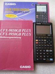 Casio CFX-9850GB PLUS Grafik-Taschenrechner Displaydefekt -