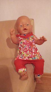 Puppenkleidung 2-teilig bis 43 cm