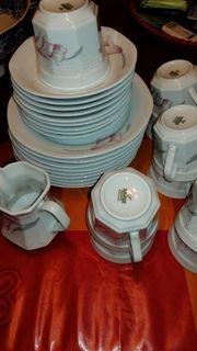 Für 9 Personen Kaffee Geschirr