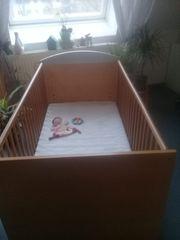 Kinderbett Babybett Gitterbett 70x140