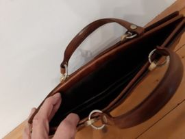 Taschen, Koffer, Accessoires - Lederaktentasche