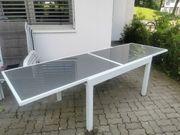 Terassen Tisch 135 270 x