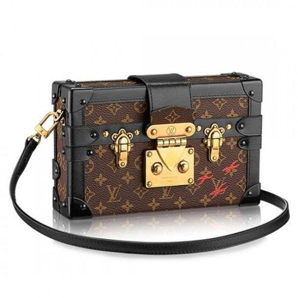 a7a491ca47a6b Louis Vuitton Petite Malle Crossbody Bag Monogram Canvas in Hemer ...