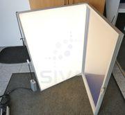 Oechsle LED-Klapprahmen Werbedisplay Werbetafel Leuchtrahmen