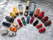 22 Modellautos 19x Wiking und