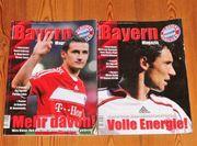 Bayern München-Magazine von 2007 2