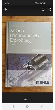 Kolben und motorische Erprobung Buch