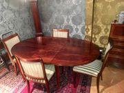Vintage Esstisch inkl vier Stühlen