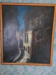 Ölbild Gemälde Fred Nömeier