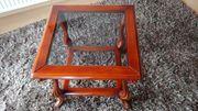 Holz-Beistelltisch glänzend lackiert 60x60cm