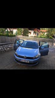 VW Golf 6 Hellblau