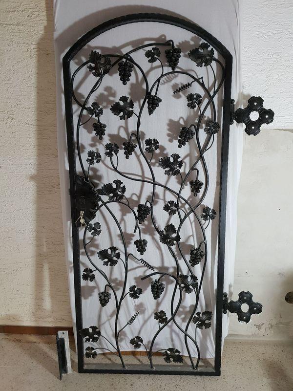 Schmiede Eiserne Weinkeller Oder Garten Tür In Ludwigshafen Türen