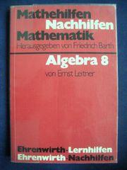 Schulbuch Algebra 8 - Mathematik Nachhilfen