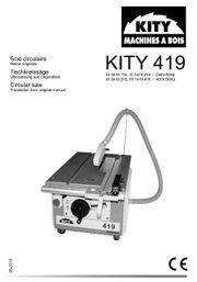 Kity 419 Tischkreissäge 230V