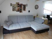 Wohnlandschaft Couch ausziehbar Schlafcouch