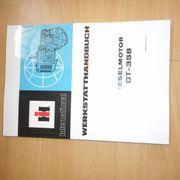Werkstatthandbuch Dieselmotor DT358