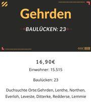 Baulücken in Gehrden